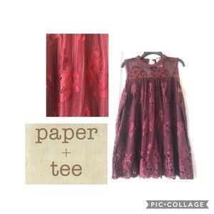 paper tee